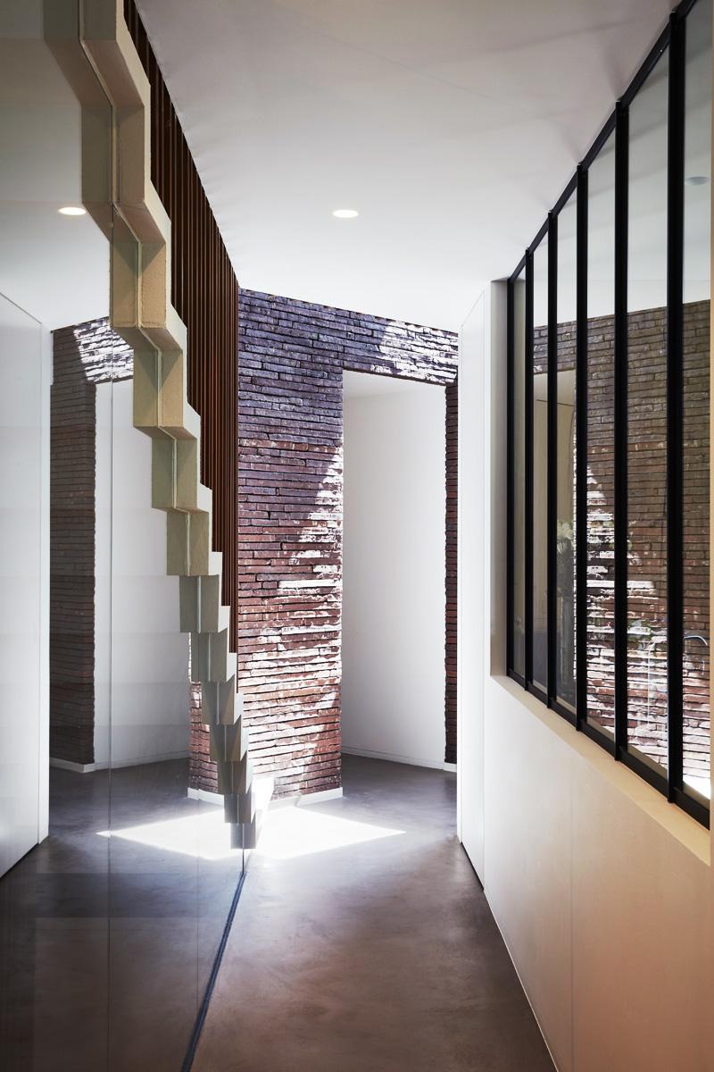 interior Artea architecture design realisation new building Mouscron